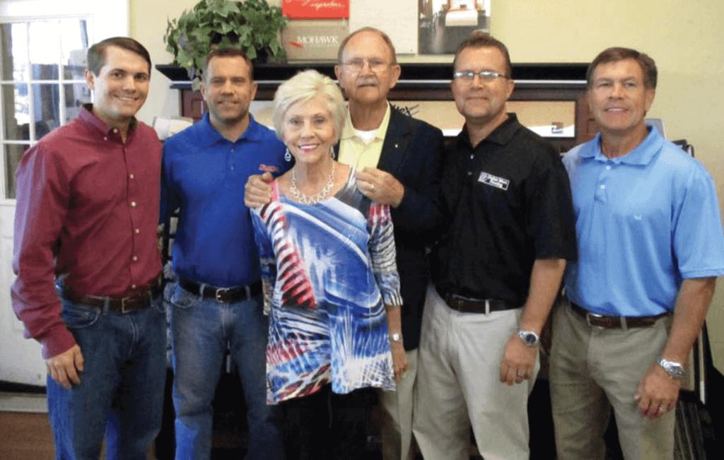 Kemp's Dalton West Flooring Family